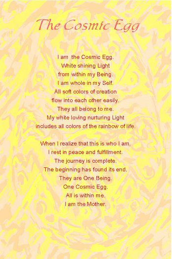 The Cosmic Egg